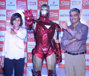 Titan Collaborates with Marvel for Zoop