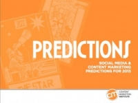 100+ Social Media and Content Marketing Predictions for 2013