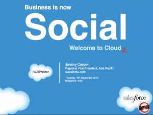 Business is now Social