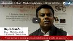 SAP Think Tank with Rajendran S, Head - Marketing & Sales, C. Krishniah Chetty & Sons