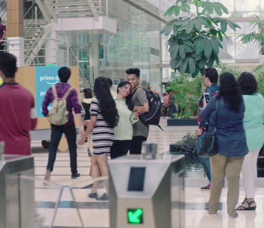 People Shopping in a Mall