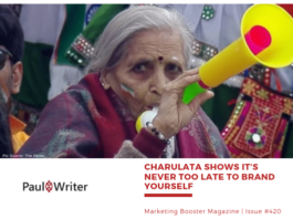 Charulata shows it's never too late to brand yourself