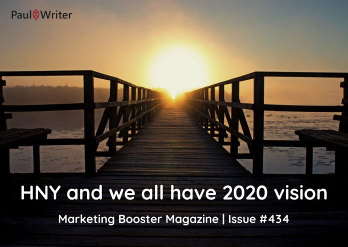 HNY and we all have 2020 vision