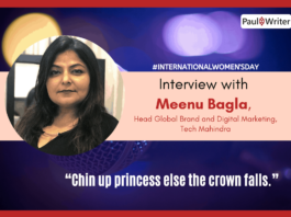 Meenu Bagla, Head Global Brand and Digital Marketing, Tech Mahindra