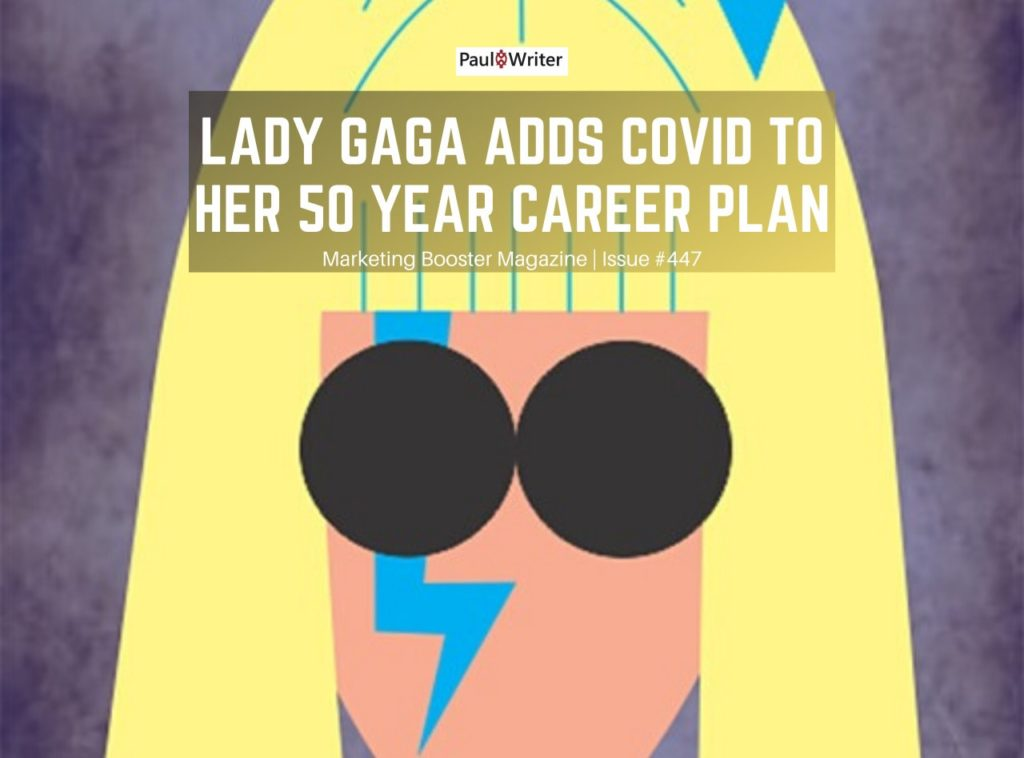 Lady Gaga adds COVID to her 50 year career plan