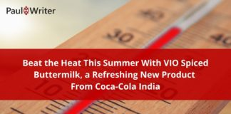 Beat the Heat This Summer With VIO Spiced Buttermilk, a Refreshing New Product From Coca-Cola India