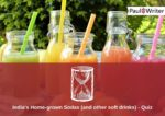 India's Home-grown Sodas (and other soft drinks) - Quiz