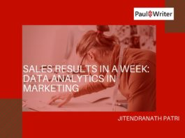 Sales Results in A Week Data Analytics in Marketing