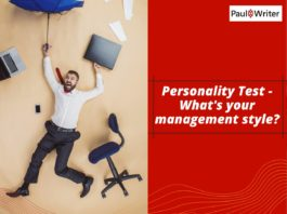 Personality Test - What's your management style