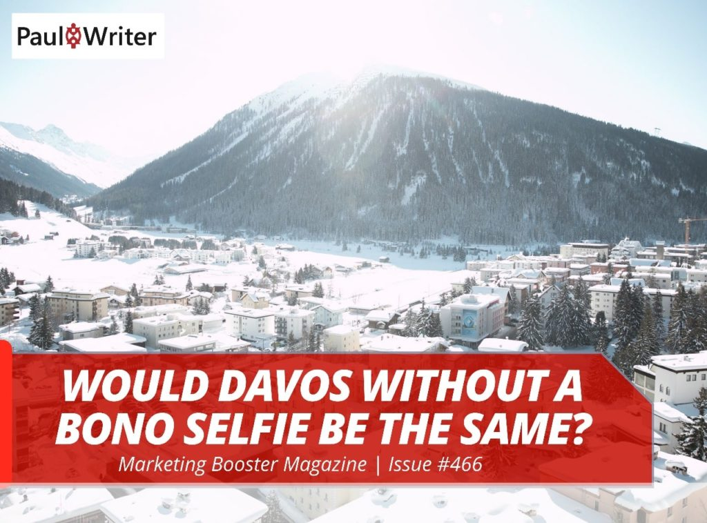 Would Davos without a Bono selfie be the same